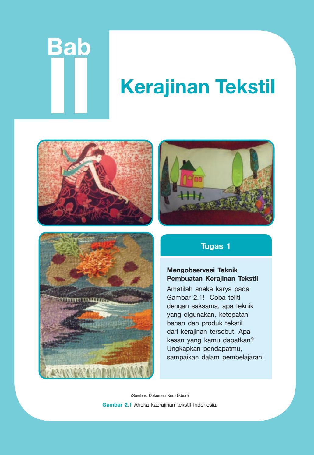 Proses Pembuatan Kerajinan Tekstil : proses, pembuatan, kerajinan, tekstil, Teknik, Pembuatan, Kerajinan, Tekstil, IlmuSosial.id