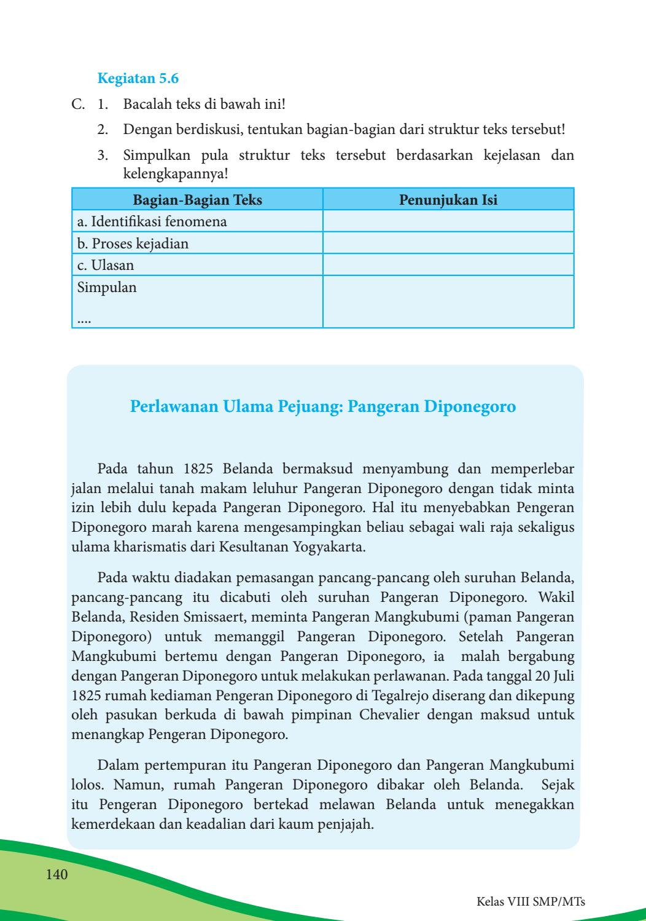 Kegiatan 5.6 Bahasa Indonesia Kelas 8 : kegiatan, bahasa, indonesia, kelas, Kelas, Bahasa, Indonesia, Siswa, Issuu