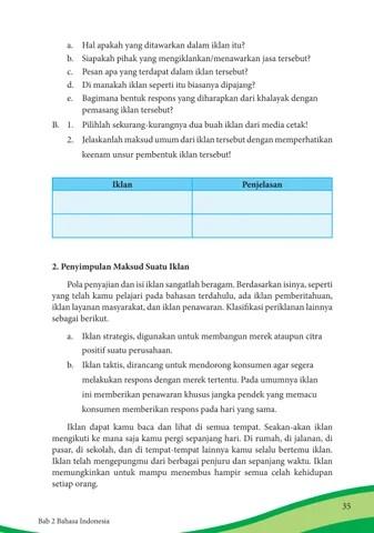 Unsur Pembentuk Iklan : unsur, pembentuk, iklan, Kelas, Bahasa, Indonesia, Siswa, Issuu