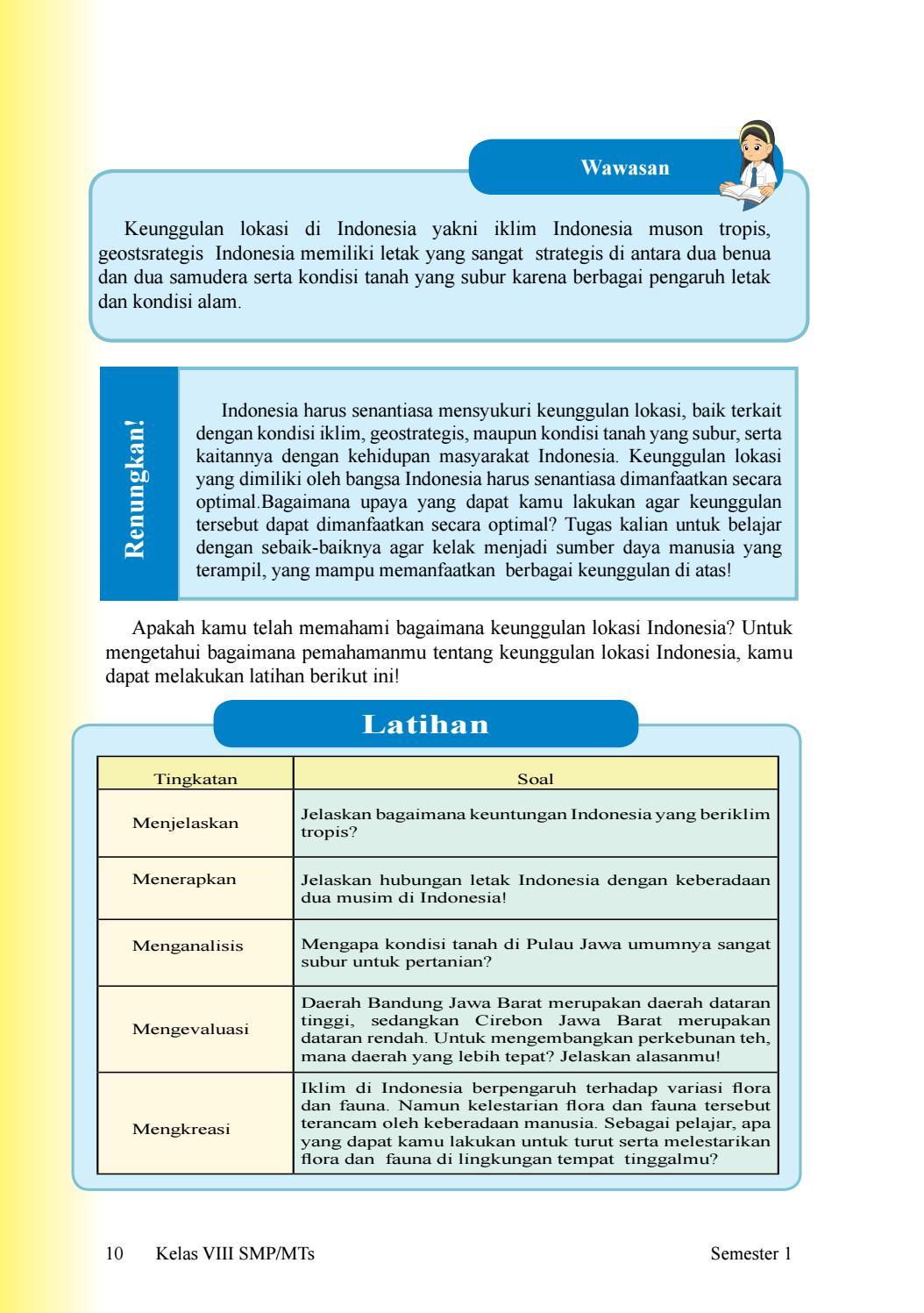 Indonesia Memiliki Letak Yang Sangat Strategis : indonesia, memiliki, letak, sangat, strategis, Kelas, Siswa, Issuu