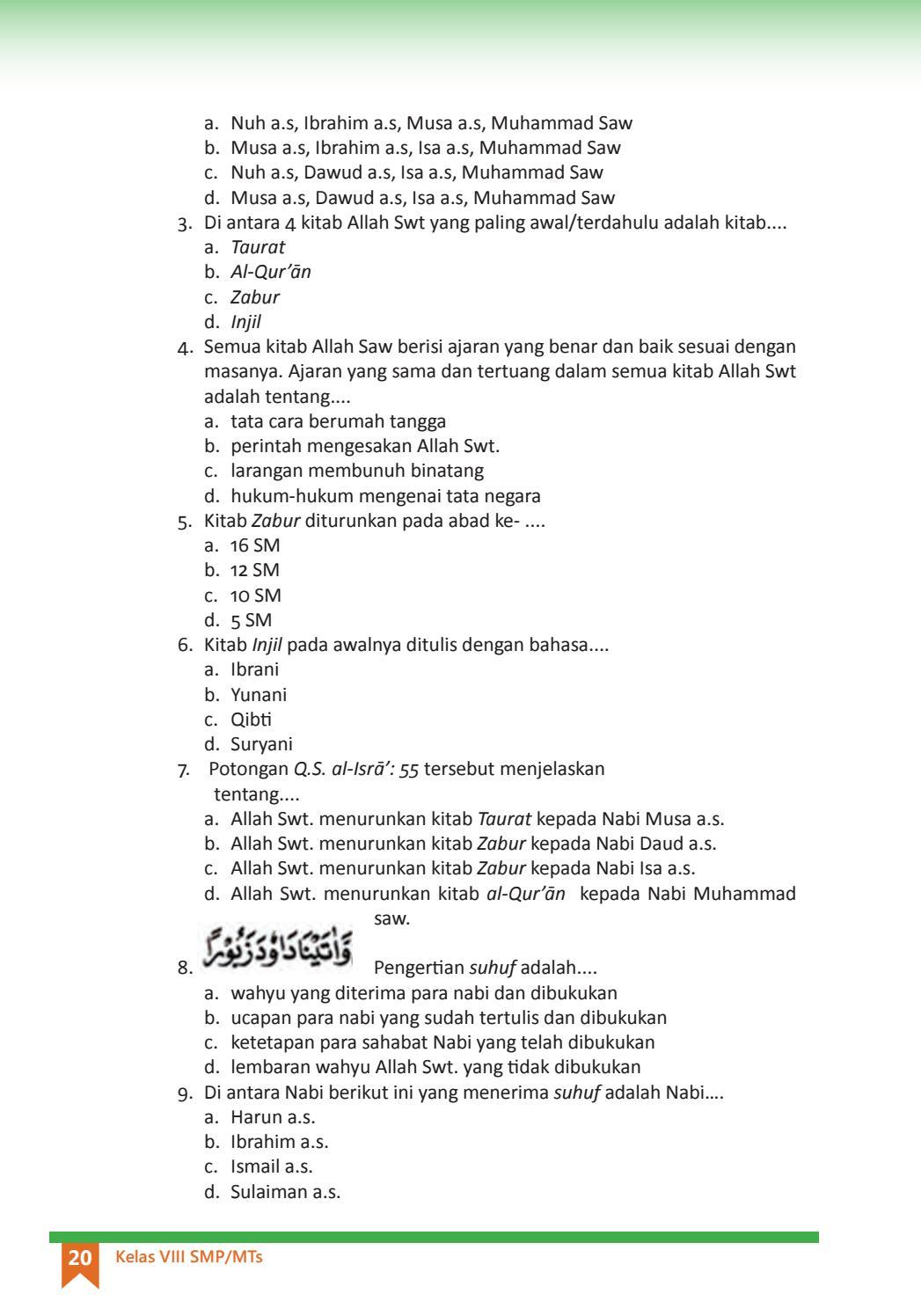 Pengertian Suhuf : pengertian, suhuf, Kelas, Pendidikan, Agama, Islam, Pekerti, Siswa, Issuu