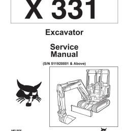 bobcat 331 compact excavator service repair manual sn 511920001 above by jksemfmm issuu [ 1155 x 1495 Pixel ]