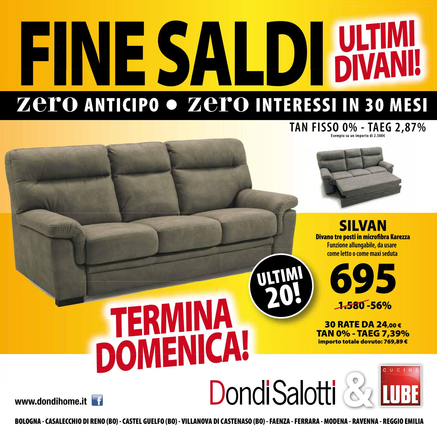 Dondi Salotti fine saldi by Michele Travagli  Issuu