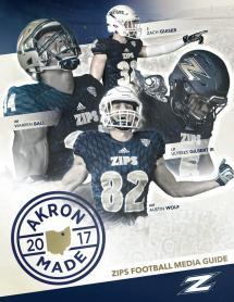 2017 Akron Football Media Guide Zips - Issuu