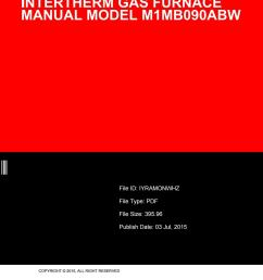 intertherm gas furnace manual model m1mb090abw by juanitanakamura3275 issuu [ 1156 x 1496 Pixel ]