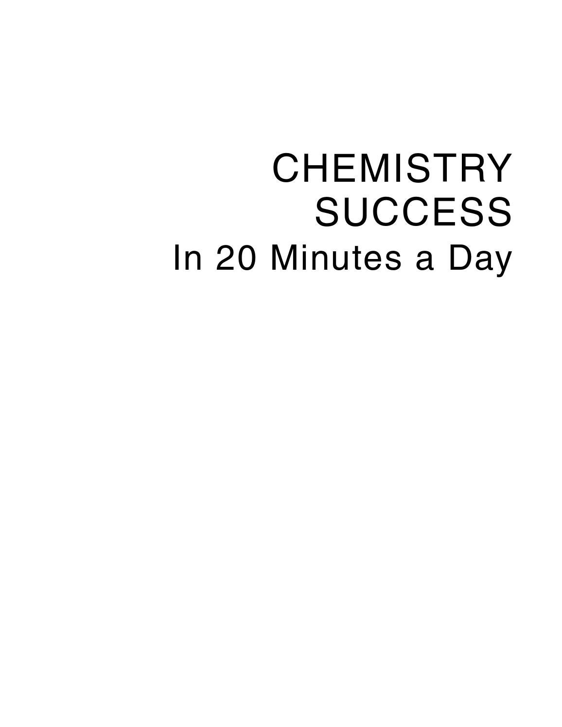 hight resolution of scribd download com chemistry success in 20 minutes a day