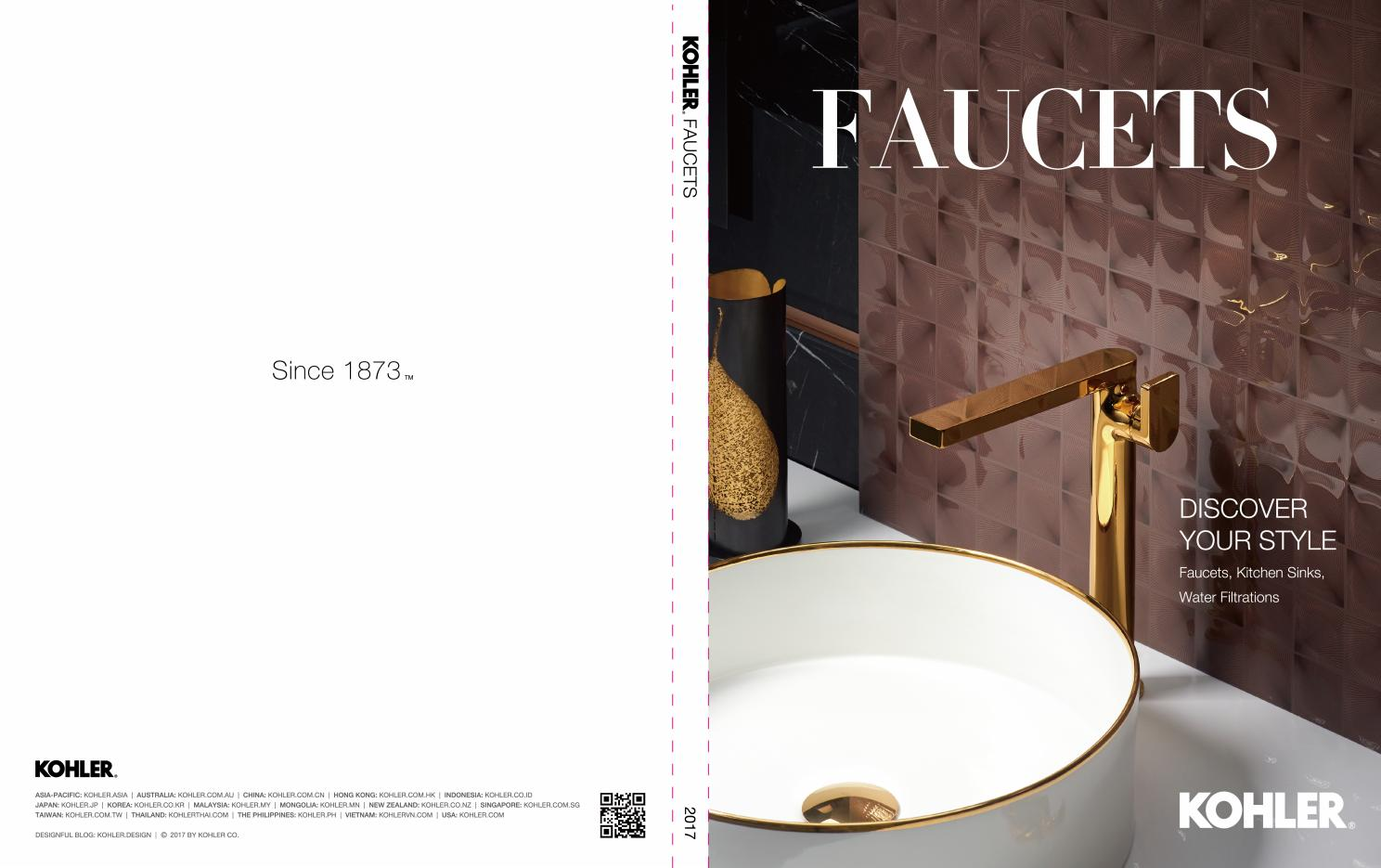 kohler faucets asia book 2017 by