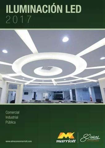 Catalogo LED 2017 Almacenes Marriott by Almacenes Marriott