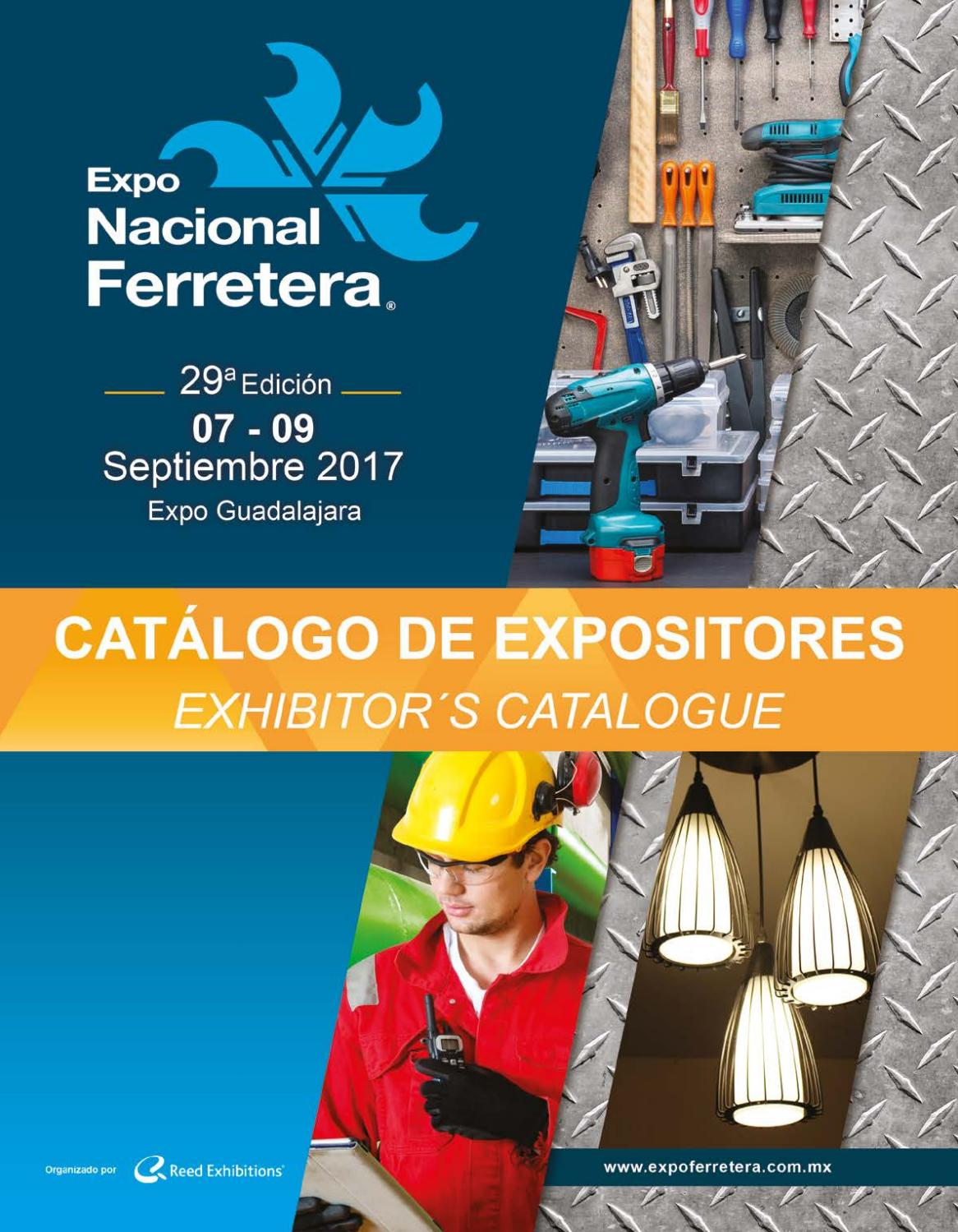Catalogo De Expositores Expo Nacional Ferretera 2017 By Reed