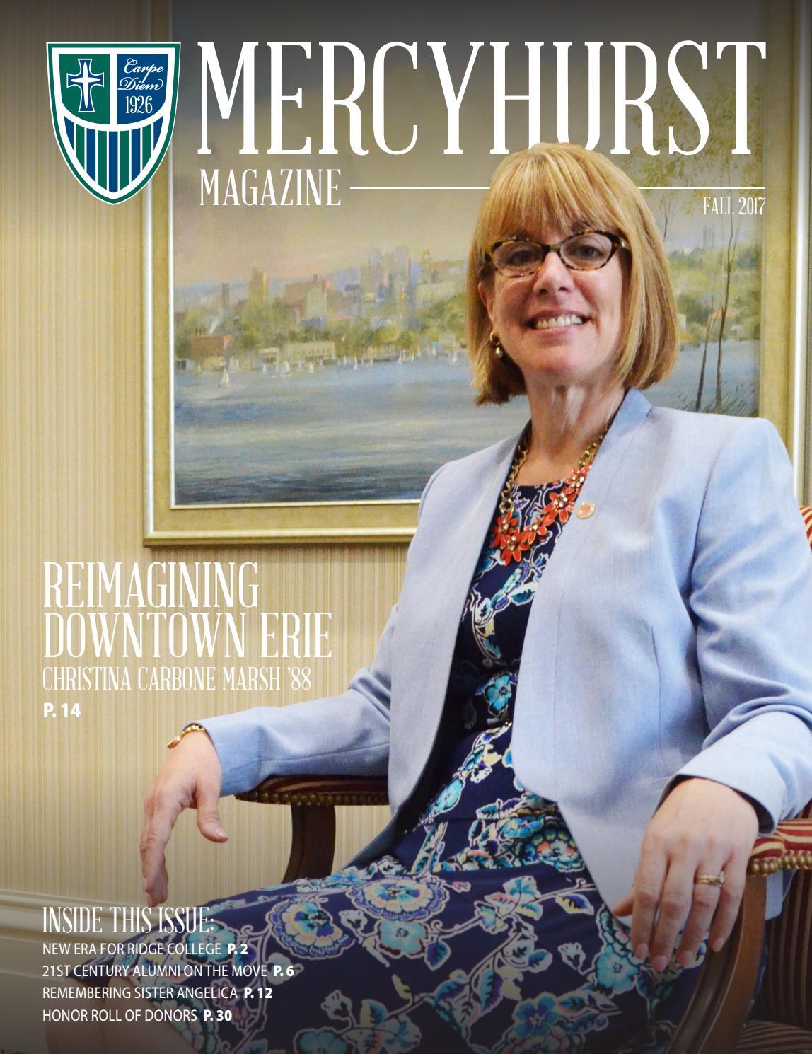 Mercyhurst Magazine - Aug. 2017 by MERCYHURST UNIVERSITY