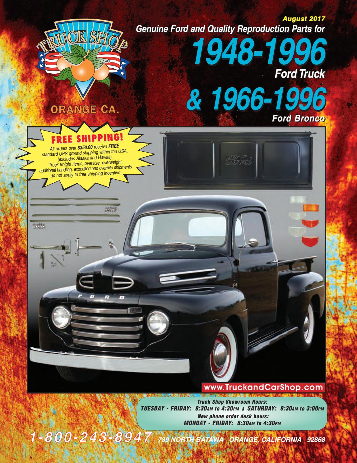 hight resolution of ford truck web cat by truck car shop issuu 1970 ford f 100 through f 350 wiring diagram short news poster