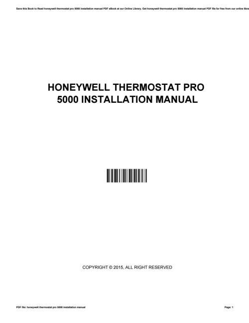small resolution of honeywell thermostat pro 5000 installation manual by jamiegorman3869 issuu
