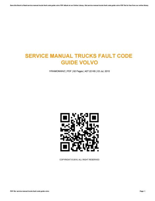 small resolution of volvo truck trouble code