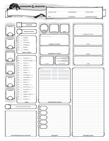 Dungeons and Dragons Downloadables for Your Library Event