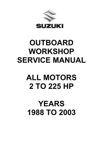 1985 Honda 5 Hp Outboard Motor Manual