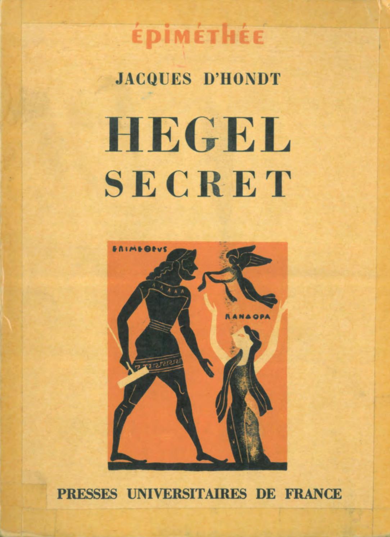 Pallas Le Faiseur De Silence : pallas, faiseur, silence, Hegel, Secret., Recherches, Sources, Cachées, Pensée, Hegelt, Jacques, D'Hondt, Txavo, Hesiaren, Issuu