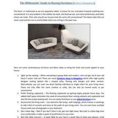 How To Dispose Old Sofa In Bangalore Kartell Largo Sofas By Suhaus Designers Issuu The Millennials Guide Buying Furniture Geny Or As We Are Popularly Called Is Known For Our Inclination Towards