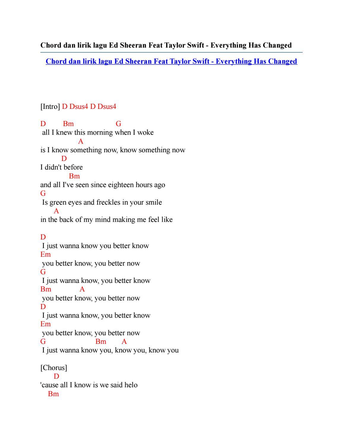Keane - Everybody's Changing Lyrics | AZLyrics.com