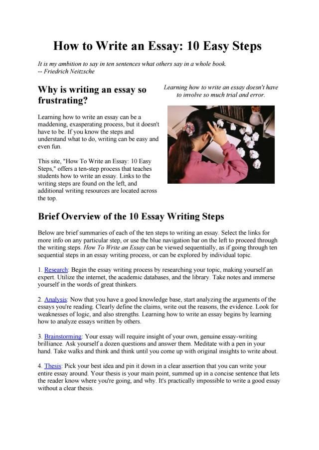 How to write an essay by UK Essays - issuu