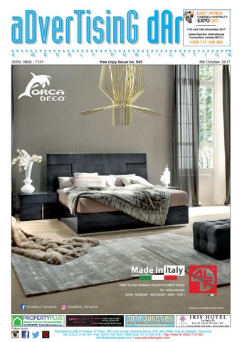Advertising Dar Issue Nº 945 6th October 2017 By