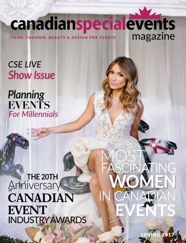Canadian Special Events Magazine Spring 2017 by Canadian Special Events Magazine  Issuu