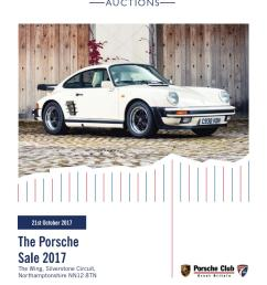 silverstone auctions the porsche sale 2017 21st october 2017 by silverstone auctions issuu [ 1059 x 1497 Pixel ]