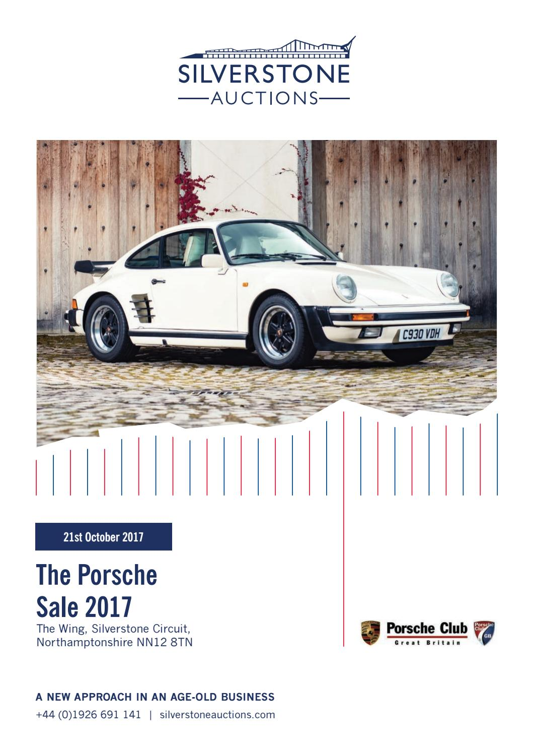 hight resolution of silverstone auctions the porsche sale 2017 21st october 2017 by silverstone auctions issuu