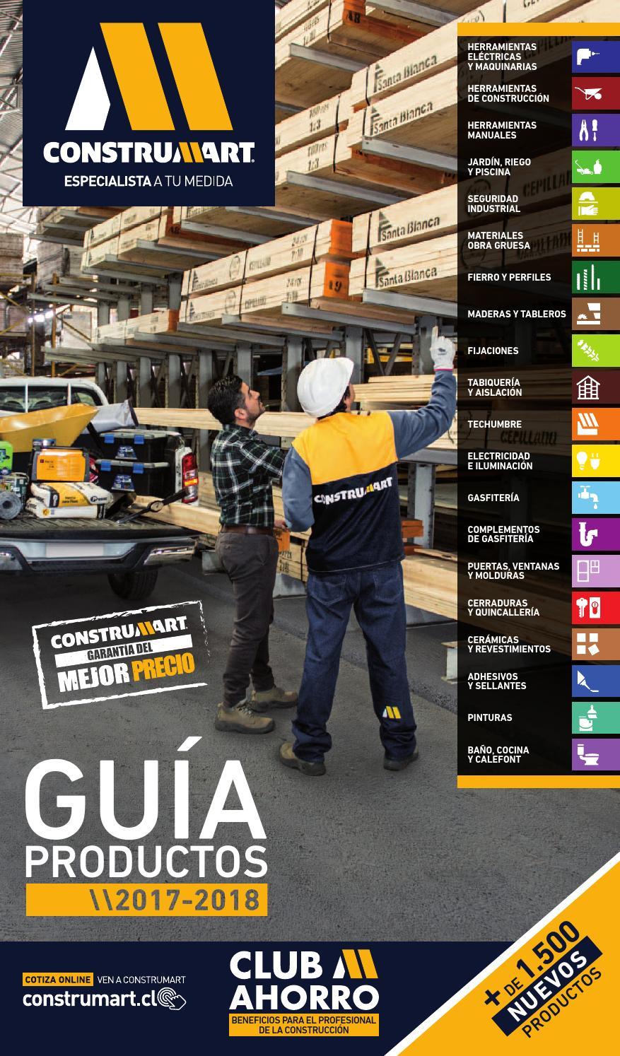 Gua de Productos 20172018 Z1 by Construmart  Issuu