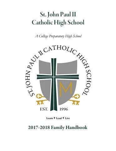 Family handbook 2017 2018 rev 10 25 17 by Sharon Wieter