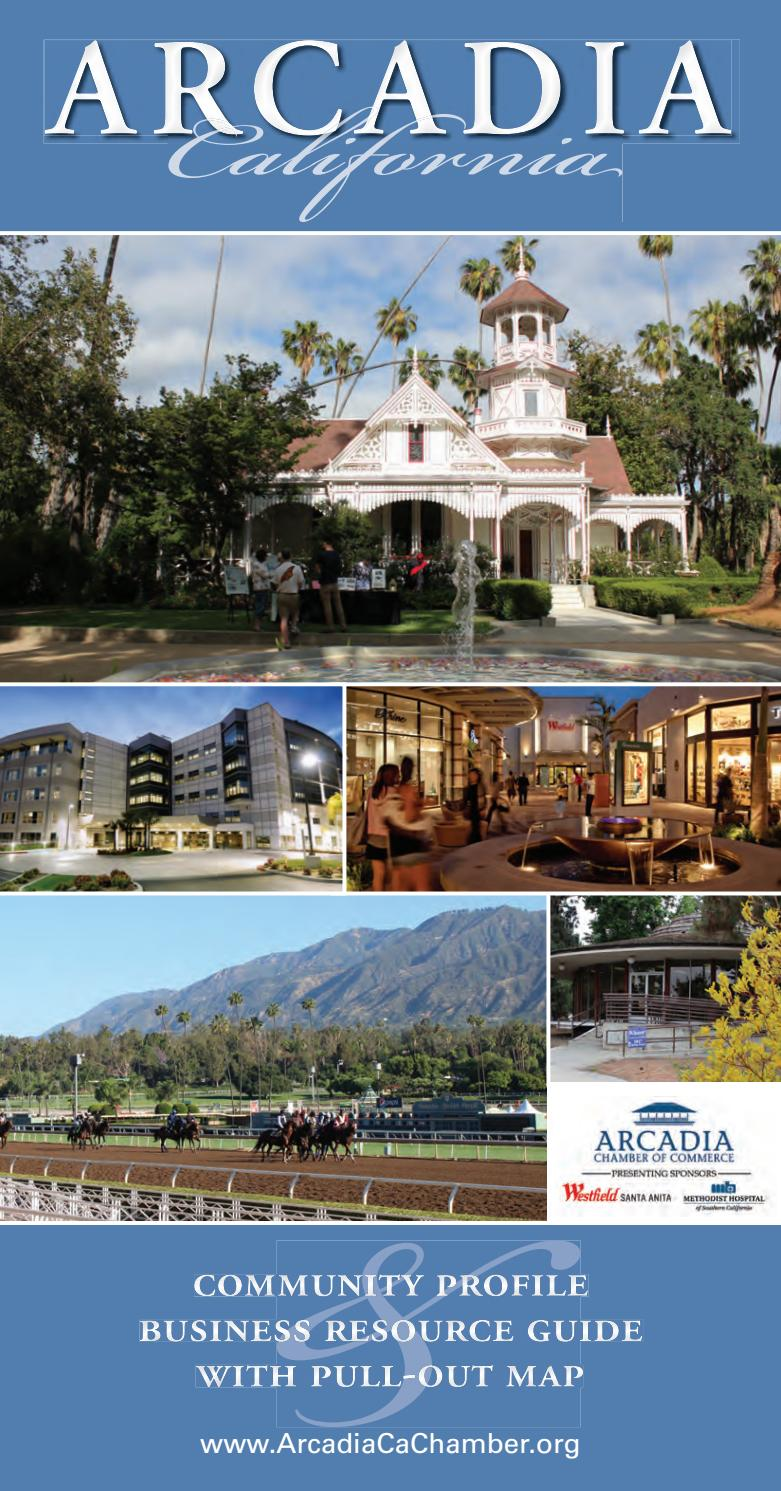Arcadia Ca Community Profile 2017 By Town Square