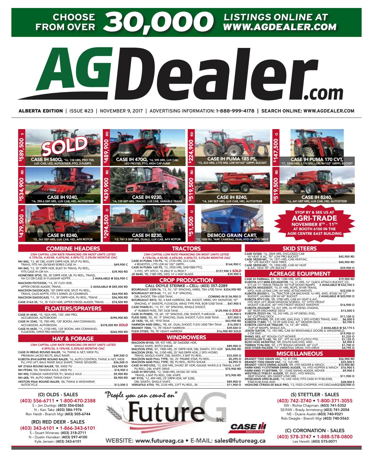 hight resolution of wheel amp deal alberta november 9 2017 by farm business communications issuu