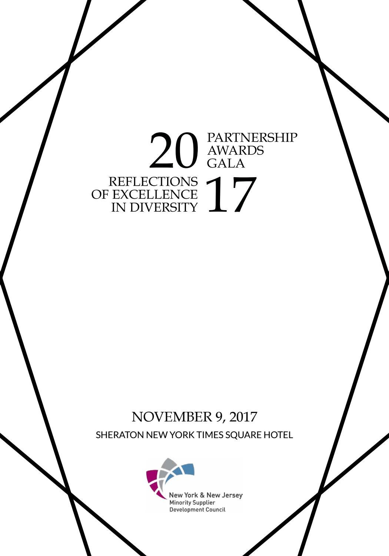 NY & NJ MSDC 2017 Partnership Awards Gala Journal by