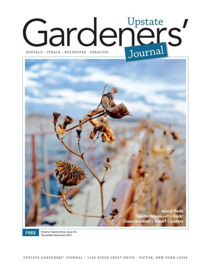 upstate gardeners' journal nov–dec 2017 by upstate gardeners