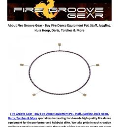 buy online fire hoop at fire groove gear [ 1156 x 1496 Pixel ]