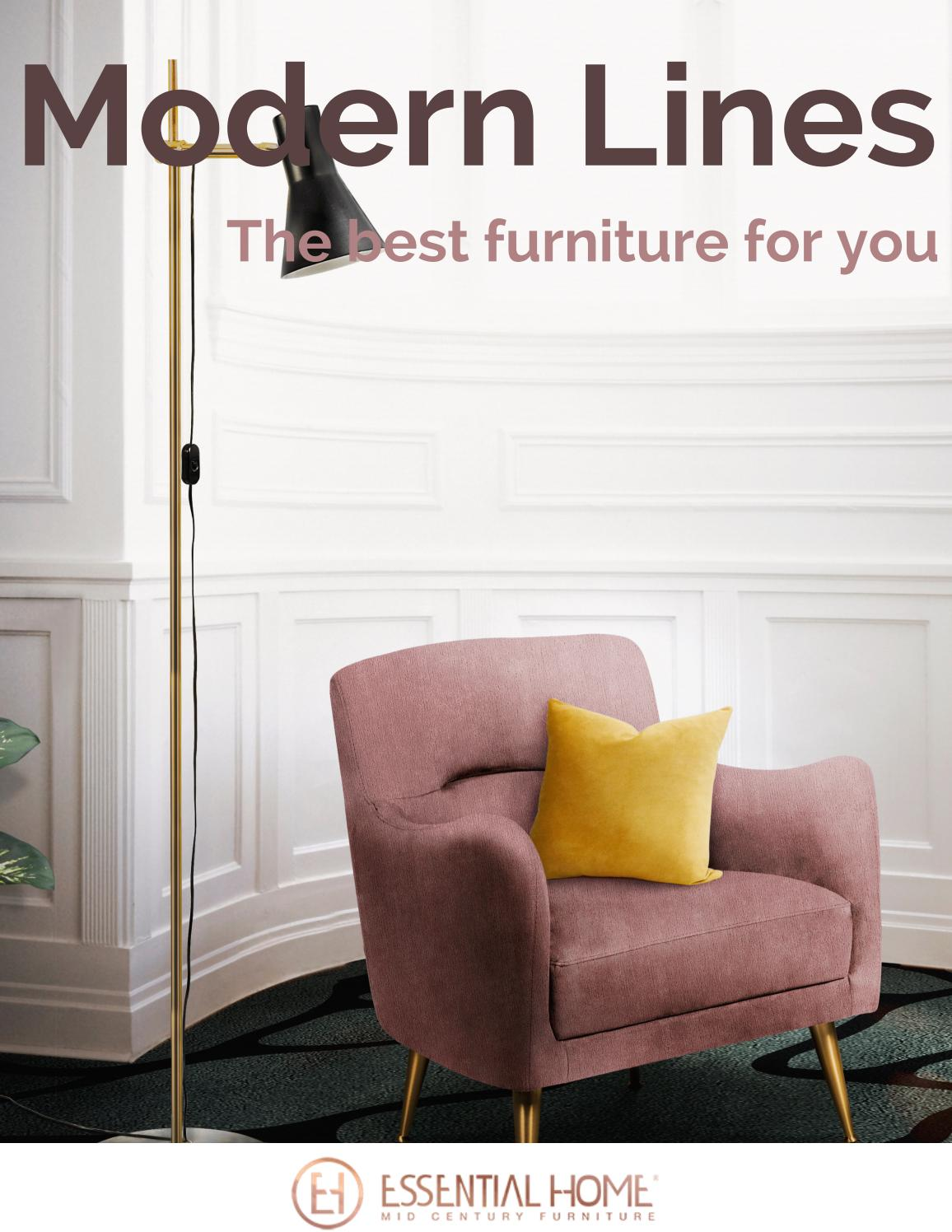 Best Chairs Ferdinand In The Best Modern Lines To Your Furniture By Essential Home Issuu