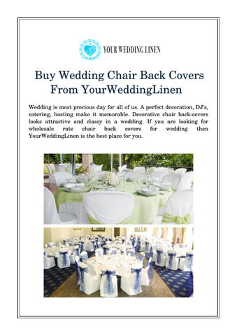 chair back covers wedding banquet chairs with arms buy from yourweddinglinen by your is most precious day for all of us a perfect decoration dj s catering hosting make it