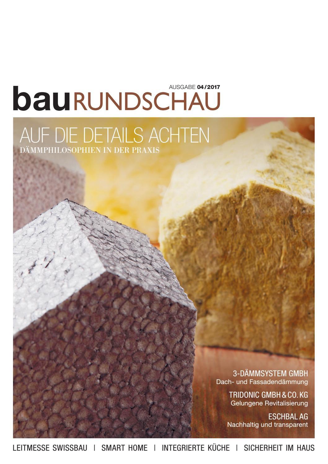 Baurundschau 04/2017 By Rundschaumedien Ag - Issuu