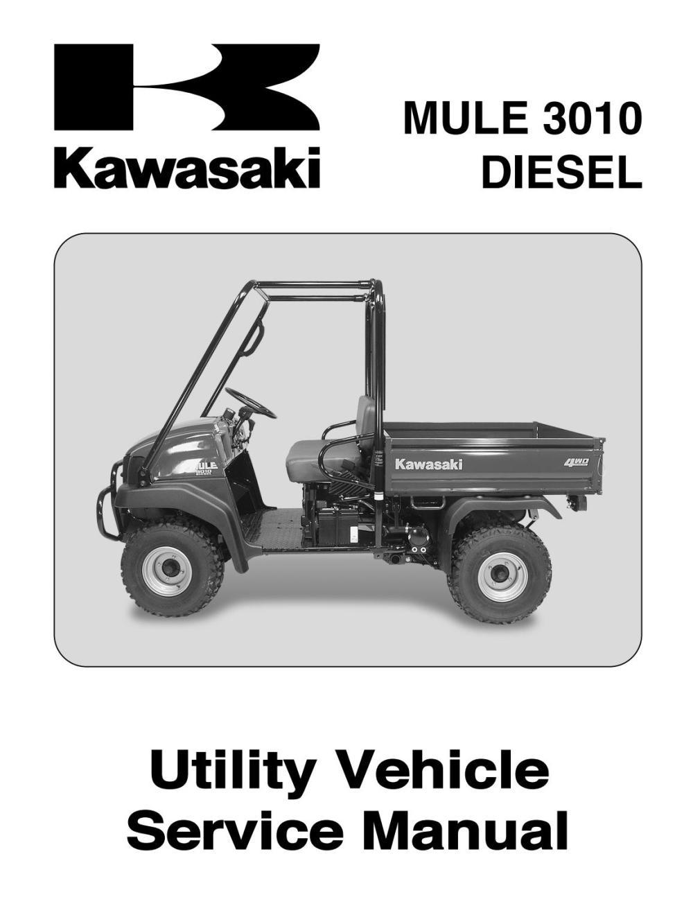 medium resolution of 2004 kawasaki mule 3010 kaf950b1 diesel service repair manual