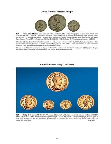 philip sofaer capital sofa cinema london hampstead cng triton xxi main catalog by classical numismatic group llc issuu julius marinus father of i