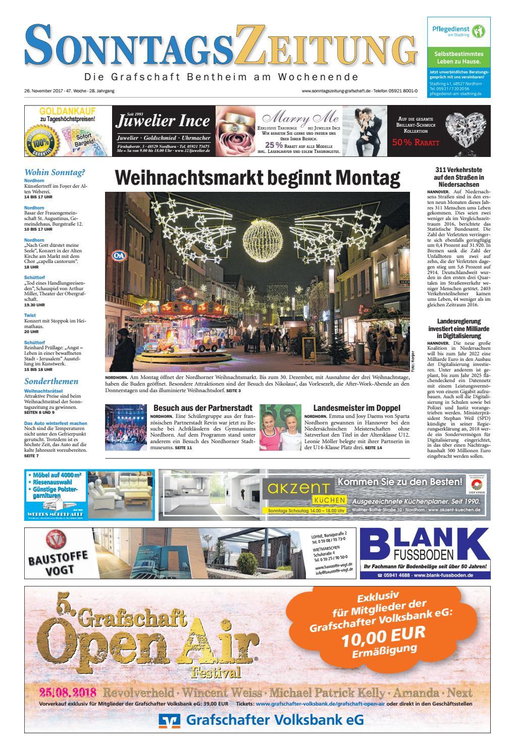sonntagszeitung 26 11 2017 by