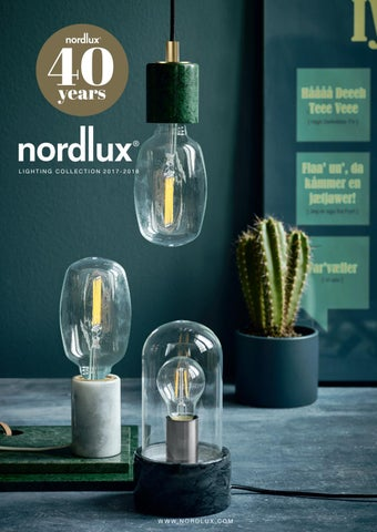 Nordlux Catalogue 20172018 by Nordlux AS  Issuu