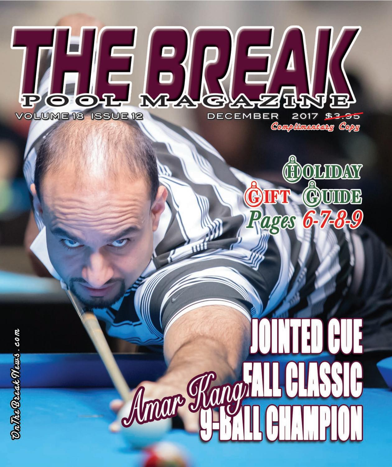 hight resolution of the break pool magazine december issue 2017