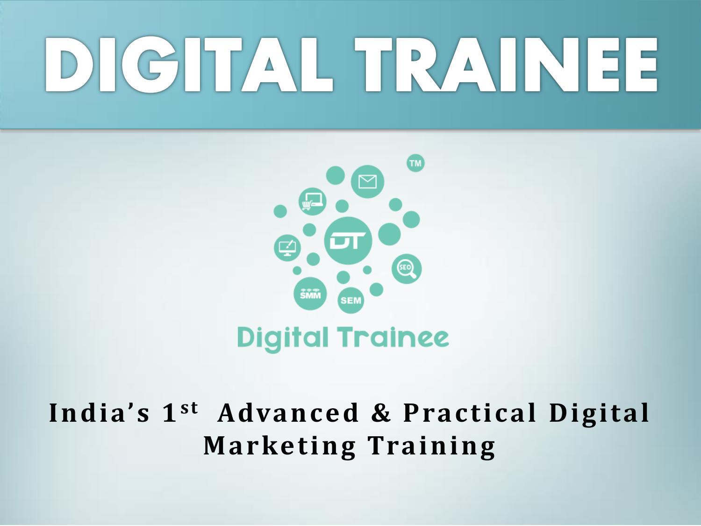 Best of seo, digital marketing & social media 2021: Digital trainee a digital marketing training institute in ...