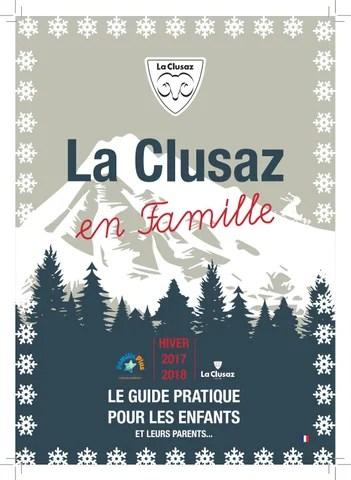 La Clusaz Office Du Tourisme : clusaz, office, tourisme, Clusaz, Famille, Hiver, 17/18, Office, Tourisme, Issuu