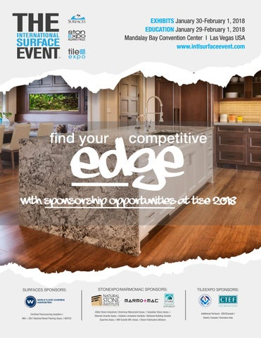 TISE 2018 Sponsorship Opportunities by Informa Architecture  Design Network  Issuu