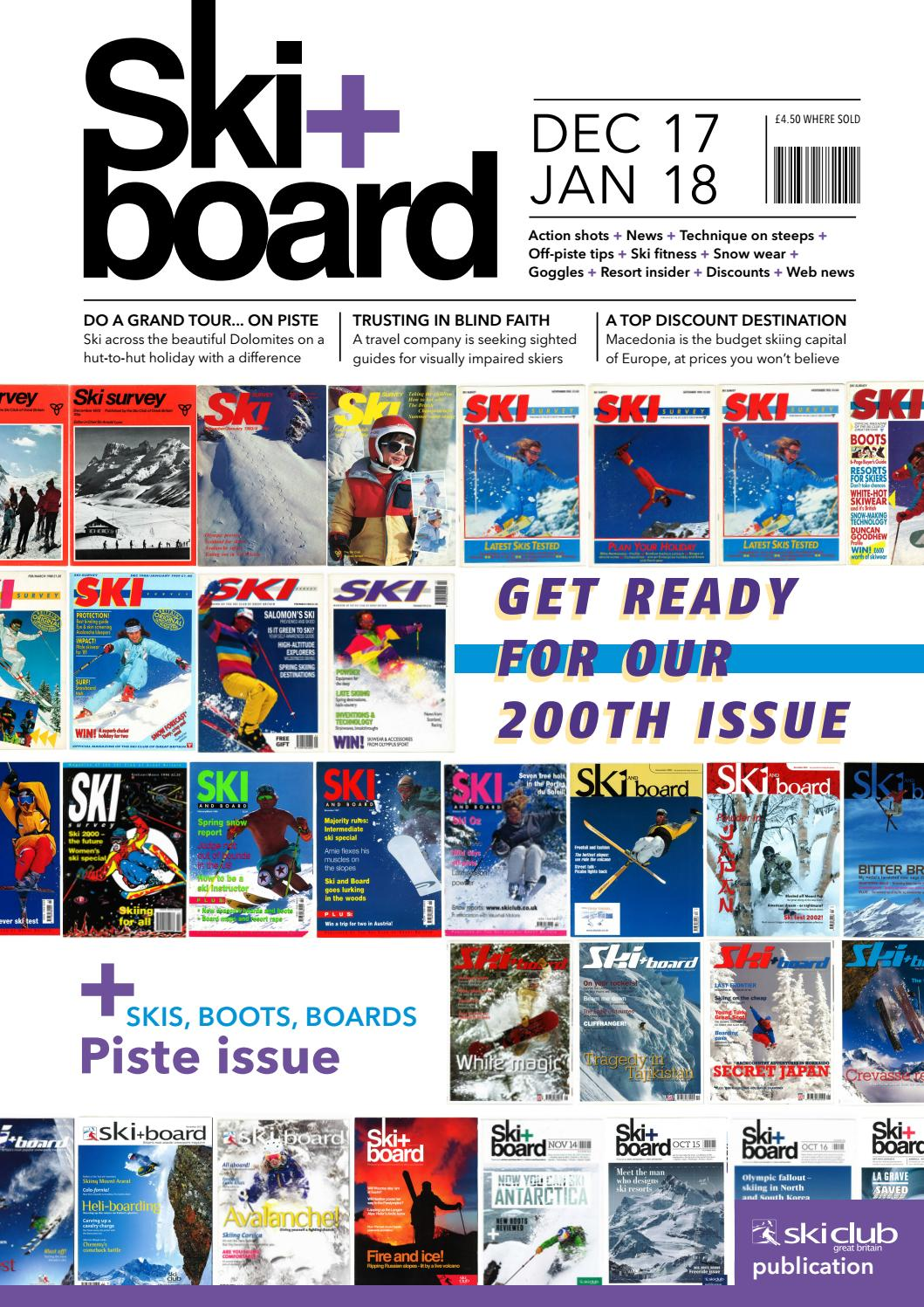 hight resolution of ski board december 2017 january 2018 by ski club of great britain issuu