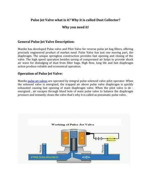 small resolution of quality pulse valve manufactured by maniks