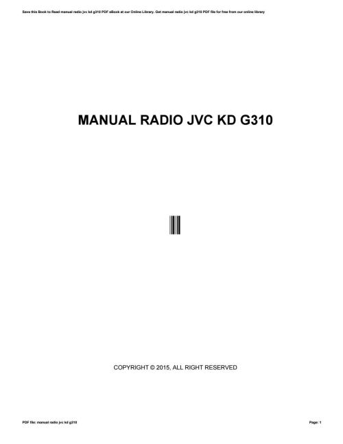 small resolution of jvc kd g310 wiring diagram