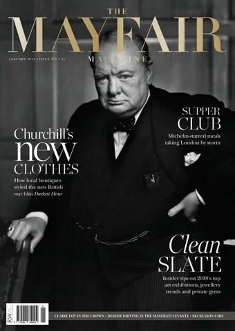 The Mayfair Magazine January 2018 by Runwild Media Group