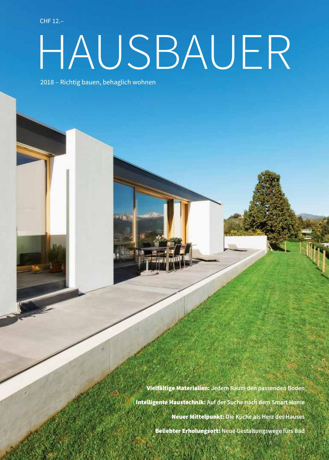 Hausbauer 2018 By Metrocomm Ag Issuu